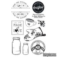 Акриловые штампы Farm House - Country Kitchen Clear Stamps