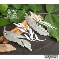 Ножи для вырубки Набор 2 декоративные веточки Cu-F-004, TM ScrapBox