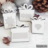 Деревянная фишка ScrapBox - Фишки для вышивки набор подарков Fl-037