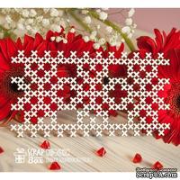 Чипборд ScrapBox - Фоновый вышивка орнамент Hb-032
