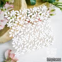 Чипборд ScrapBox - Фоновой цветочный Hb-067