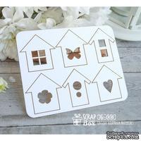 Чипборд ScrapBox - набор домики Hc-008