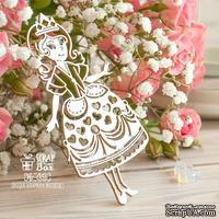 Чипборд ScrapBox - Принцесса Hc-056