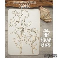 Чипборд ScrapBox - Цветы №3