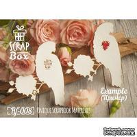 Чипборд ScrapBox - Птицы для вышивки №1