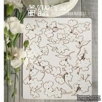 Чипборд ScrapBox - Набор цветы Hf-016