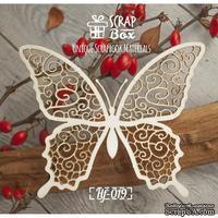Чипборд ScrapBox - Бабочка ажурная №4
