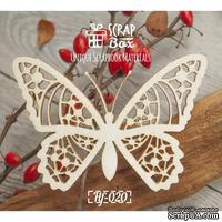 Чипборд ScrapBox - Бабочка ажурная №1