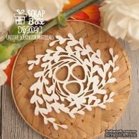 Чипборд ScrapBox - Птичье гнездо с яйцами Hf -034