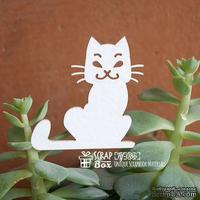 Чипборд ScrapBox - котик Hf-086