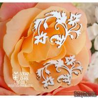 Чипборд ScrapBox - Веточки с цветочками (2 шт.) Hf-120