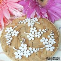 Чипборд ScrapBox - Веточки с цветочками 5шт Hf-215