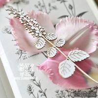 Чипборд ScrapBox - Ветка цветущей мяты Hf-227