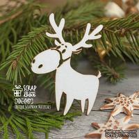 Чипборд ScrapBox - Новогодний олень без упряжки Hh-087