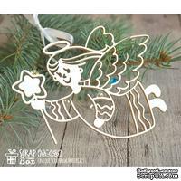 Чипборд ScrapBox - Рождественский ангел с звездочкой Hh-096