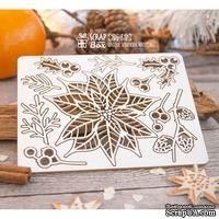 Чипборд ScrapBox - Набор новогодних растений Hh-131