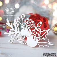 Чипборд ScrapBox - Рождественская композиция Hh-165