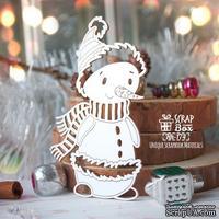 Чипборд ScrapBox - Снеговик в шарфе Hh-174