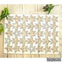 Чипборд ScrapBox - Набор чисел для рождественского календаря (advent calendar) Hi-324