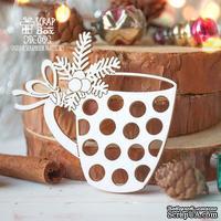 Чипборд ScrapBox - Новогодняя чашка Hk-019