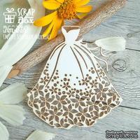 Чипборд ScrapBox - свадебное платье Hm-038