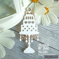 Чипборд ScrapBox - свадебный торт Hm-040