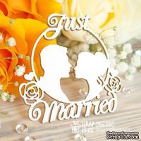 Чипборд ScrapBox - Свадебные силуэты Just Married Hm-051