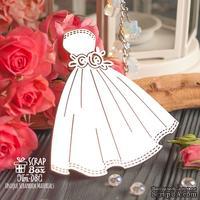 Чипборд ScrapBox - свадебное платье с розами Hm-081