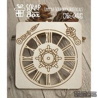 Чипборд ScrapBox - Набор Часы №1