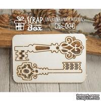 Чипборд ScrapBox - Набор Ключи