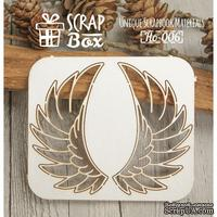 Чипборд ScrapBox -Крылья №1