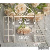 Чипборд ScrapBox - Открытое окно