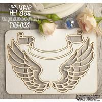 Чипборд ScrapBox -Крылья №3