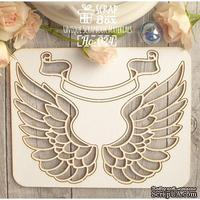 Чипборд ScrapBox - Крылья №5