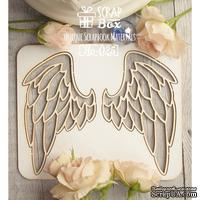 Чипборд ScrapBox -Крылья №2