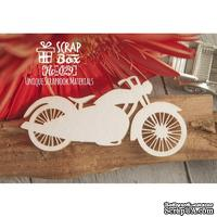 Чипборд ScrapBox - Мотоцикл №1