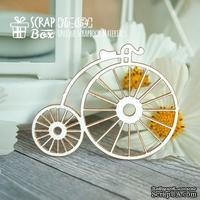 Чипборд ScrapBox - ретро велосипед Ho-049