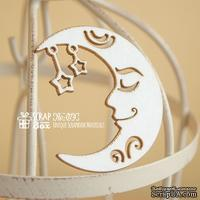 Чипборд ScrapBox - Луна со звездами Ho-074