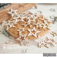 Чипборд ScrapBox - Набор Звезды-контур 30шт Ho-160