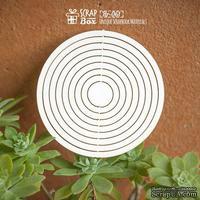 Чипборд ScrapBox - рамка, основа в форме круга