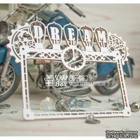 Чипборд ScrapBox - Рамка в стиле стимпанк Dream Hr-156
