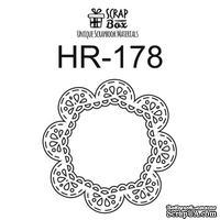Чипборд ScrapBox - Кружевная рамка Hr-178
