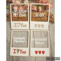 Чипборд ScrapBox - Для вышивки слайды Love №2