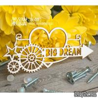 Чипборд ScrapBox - стимпанк Big Dream Ht-051