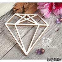 Чипборд ScrapBox - Алмаз трехгранный Ht-058