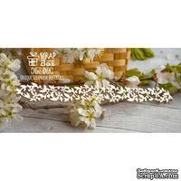Чипборд ScrapBox - Цветочный бордюр Hw-018