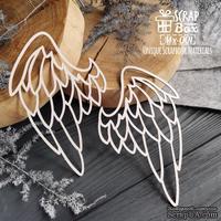 Чипборд ScrapBox - Крылья большое (2шт) Mx-001