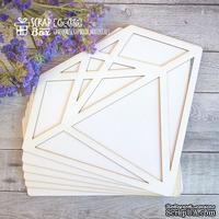 Основа для альбома ScrapBox в форме кристалла (6 шт.) Os-035