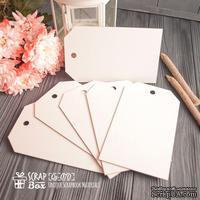 Чипборд ScrapBox - заготовки для альбома Теги 6шт Os-070