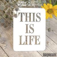 Чипборд ScrapBox - Карточка Project Life PL-023